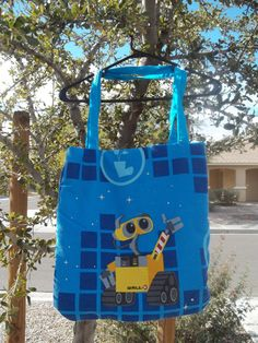 Wall E tote from bed sheets  www.etsy.com/shop/heartfelthandikraftz