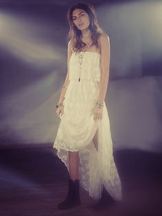 Free People Florencia Pleated Lace, $199.95