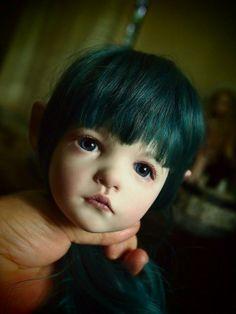 青緑の子。の画像:ガーナベイビーズ
