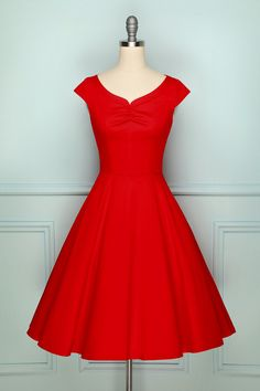 Retro Style Red A-line Rockabilly Swing Dress, XS The Effective Pictures We Offer You About REd dress princess A quality picture can tell you ma Party Dress Sale, Prom Dresses For Sale, Pink Prom Dresses, Pin Up Dresses, Dress Prom, Dress Formal, Dress Long, Burgundy Satin Dress, Burgundy Bridesmaid Dresses Long