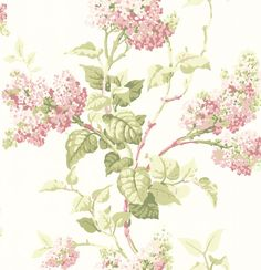 Lilac Blossom Willow/ Rose wallpaper by G P