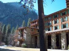 Ahwahnee Hotel with it's striking granite facade, magnificent log-beamed ceilings, massive stone hearths, richly colored Native American artwork and finely appointed rooms is a shining example of what we consider to be the premier lodge in the Yosemite area.