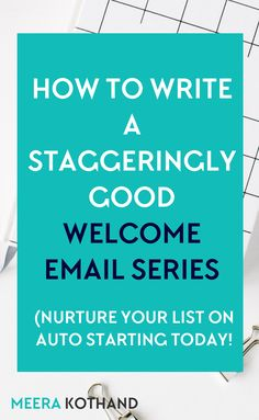 How to grow a business — Wondering about how to write a welcome email series? Click through to get a template that you can use for your own welcome on boarding. You'll start to see higher engagements and click through rates. E-mail Marketing, Email Marketing Design, Email Marketing Strategy, Email Design, Business Marketing, Content Marketing, Business Tips, Online Marketing, Online Business