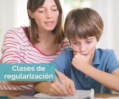 Clases de regularización.  Niños menos frustrados y papás más tranquilos
