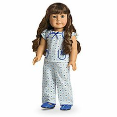 American Girl® Dolls: Molly's Floral Pajamas for Dolls