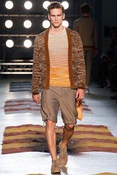 Missoni Spring/Summer Men's Collection 2013