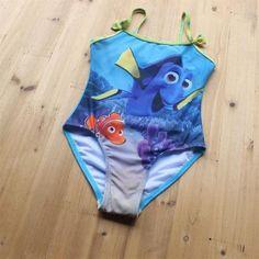"""Nieuw binnen ! Schattig badpakje geinspireerd op de nieuwe Disney film: Finding Dory ! """"Just keep swimming, just keep swimming ! """""""