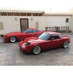 @h_9349 from #Bahrain   #TopMiata #mazda #miata #mx5 #eunos #roadster #bbs…