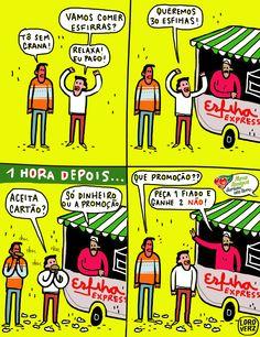"""Tirinha do Loro Verz para campanha """"Dia do amigo"""" da Guaraná 2013 www.loroverz.com #loroverz #art #quadrinhos"""