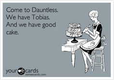 Definitely! Why not come for Tobias!!!!