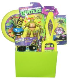 Amazon.com: Teenage Mutant Ninja Turtles TMNT Gift Basket - Perfect for Easter, Birthdays, Christmas, or Other Occasion: Toys & Games