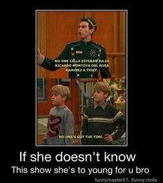 The suite life of Zack