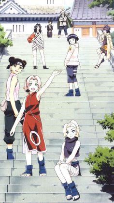 Ino,Sakura,Tenten,Hinata,Kurenai,Anko,Tsunade & Shizune