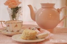 Hello everyone, I am in the pink here today and I know I have been showing a lot of tea cups lately but it is January and a little ha. Pretty Good, Pretty Little, Shades Of Peach, Sweet Tea, Hello Everyone, Afternoon Tea, Tea Time, Tea Pots, Raspberry