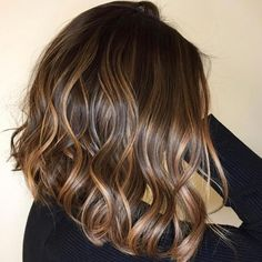 Luscious Balayage With Subtle Purple Tones - 20 Stunning Examples of Mushroom Brown Hair Color - The Trending Hairstyle Bronde Hair, Brown Hair Balayage, Caramel Balayage, Balayage Hair Brunette Medium, Caramel Highlights On Dark Hair, Hair Highlights, Hair Color And Cut, Brown Hair Colors, Carmel Hair