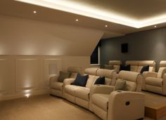 Home Cinema Room and Seating   New Wave AV Smart Home Automation & Audio Visual Solutions