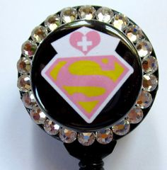 Super nurse badge holder