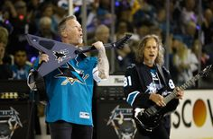 Game 4 of the Stanley Cup Finals - Metallica