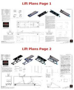 lift plans pages 1-2