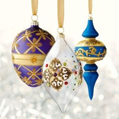60-pc. Royal Treasures Ornament Collection
