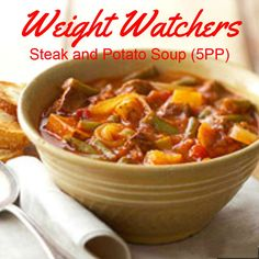 Weight Watchers Steak And Potato Soup (5 Points+)