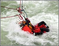 Swiftwater/flood rescue information, networking, referral, public safety education, and news coverage. Coast Guard Rescue Swimmer, Coast Guard Helicopter, Search And Rescue Training, Sea To Sky Highway, Emergency Response Team, Water Rescue, Ice Climbing, Fire Dept, Fire Trucks