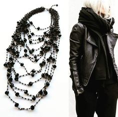 Show Magazine, Jewellery Exhibition, Pearl Necklace, Fashion Show, Photoshoot, Pearls, Boots, Jewelry, String Of Pearls