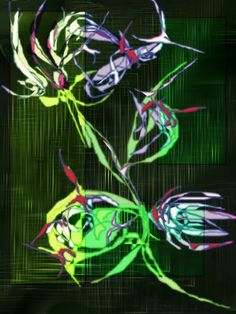Spaces 2 ← an abstract Speedpaint drawing by Anisoara