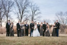 The perfect color palette for a winter wedding. | See more of this winter #wedding here: http://www.mywedding.com/articles/doug-and-mollys-st-louis-missouri-military-wedding-by-ashley-fisher-photography/