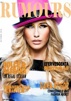 Rumours Magazine issue 8/October 2012
