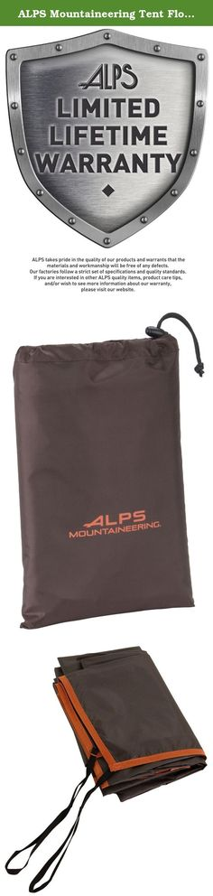 ALPS Mountaineering Tent Floor Saver (Multiple Sizes). ALPS Mountaineering rectangle floor savers are a great addition to any tent purchase. They are cut a little smaller than the dimension of the tent floor and have a webbing loop on the corners, which makes it easy to pull and stake out with the tent stakes. Simple, fast and all at a great price.