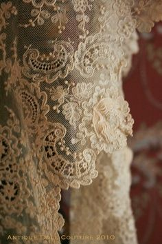 Sometimes there is nothing more simply beautiful than antique lace.
