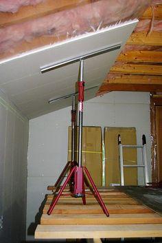 Coloca placas comodamente con los puntales PIHER http://www.montec.es/Sargentos-PIHER/Puntales