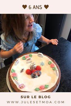anniversaire, 6 ans, minimoa, mon amour, famille, la petite dernière, tempérament, blog famille, famille nombreuse Cake, Blogging, Desserts, Food, Big Family, 6 Year Old, Birthday, Love, Kid