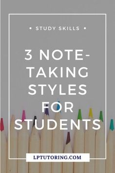 Are your notes not working for you anymore? I break down 3 different note-taking styles - find the one that works best for you! Note Taking Strategies, Note Taking Tips, Taking Notes, Study Skills, Study Tips, Importance Of Time Management, Study Techniques, Online Tutoring, School Hacks
