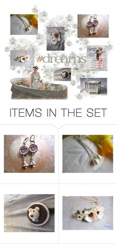 """Dreams"" by frenchpapermoon ❤ liked on Polyvore featuring art"