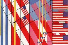 Frank Lloyd Wright American Flag    www.franklloydwright.org