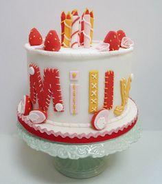 """Felt"" Cake"