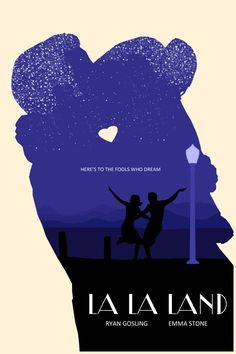 Official La La Land Poster La La Land Print La La by Kulascapes