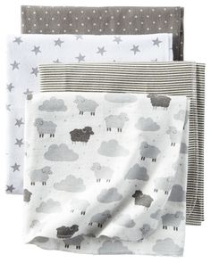 4-Pack Receiving Blanket | Carters.com