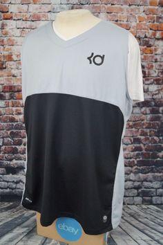 Nike Dri Fit Outdoor Tech Kevin Durant Vest Jersey Top Shirt Black Gray KD  3XL   9b3567540