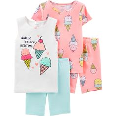 Newborn baby Pajamas keep your infant pleasant for rest and going to sleep snuggles! Buy your beloved trend, like footie pajamas and comfortable pajama sets. Satin Pyjama Set, Pajama Set, Pajamas For Teens, Baby Girl Pajamas, Toddler Pajamas, Cotton Pjs, Womens Pyjama Sets, Girls 4, Toddler Girls