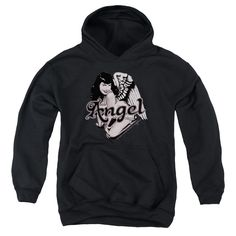 Bettie Page/Bettie Angel Youth Pull-Over Hoodie in, Boy's