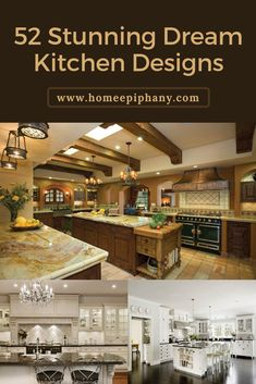 Check out these 52 dream kitchens (photos) Rustic Country Kitchens, Country Kitchen Designs, Rustic Kitchen, Kitchen Decor, Home Design, Kitchen Trends, Kitchen Ideas, Kitchen Photos, Dream Kitchens