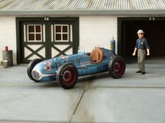Blue Crown Spark Plug Special. 500 milles in Indianapolis 1948