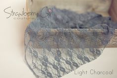 Newborn Stretch Lace Wraps by Strawberry Girl Couture