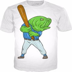 Check out my new product https://www.rageon.com/products/largemouth-bass-baseball-player-batting-cartoon on RageOn!