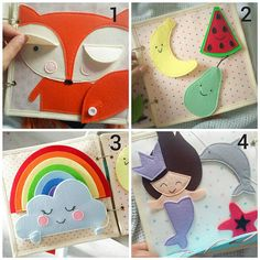 Quiet books didactic books, which I designed to help improve fine motor skills and explore colors, shapes and explore the world. Soft book - not just a book, this is a great advantage for the development of the child. Quiet book recommended by doctors, speech pathologists, psychologists