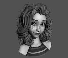 zbrush hair - Google Search