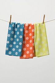 Dotted Jacquard Tea Towels
